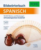 PONS Bildwörterbuch Spanisch DaF A1-B2 Spanisch-Deutsch