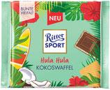 Ritter Sport Chocolate con leche relleno de crema de coco y galleta