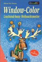Window-Color Leuchtend-bunte Weihnachtsmotive