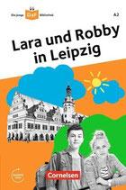 Lara und Robby in Leipzig.