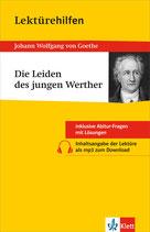 """""""Die Leiden des jungen Werthers"""" Lektürehilfen Johann Wolfgang von Goethe"""
