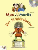 Max und Moritz & Der Struwwelpeter, Buch mit CD von Kinderland