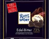 Ritter Sport chocolate amargo extrafino 73%
