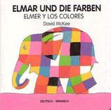Elmar und die Farben / Elmer y los colores