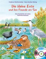 Die kleine Ente und ihre Freunde am See