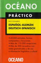 Oceano Practico. Diccionario Espanol-Aleman Deutsch-Spa