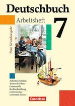 Deutschbuch 7 Arbeitsheft mit Lösungen