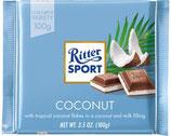 Ritter Sport chocolate con leche y coco