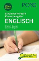 Pons Schülerwörterbuch ENG-DEU