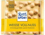 Ritter Sport chocolate blanco con avellanas