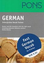 Pons German Interactive Vocab Trainer
