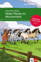 Wilde Pferde im Münsterland.