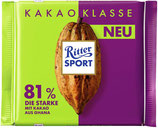 Ritter Sport Chocolate amargo 81% Cocoa