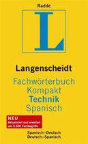 Langenscheidt Fachwörterbuch Kompakt Technik, Spanisch