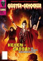 Geister-Schocker Comic - Hexensabbat, m. Audio-CD -Vier Geschichten aus den Abgründen des Grauens-