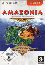 Pack 3 Spiele-Amazonia-Mahjongg-Kreuzworträtsel