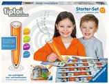 Stift und Buchstaben-Spiel