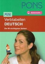 Mini Vertabellen Deutsch.