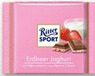 Ritter Sport chocolate relleno de yoghurt de fresa