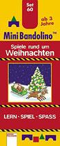 Mini Bandolino-Spiele rund um Weihnachten