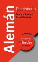 Herder Diccionario Compacto Alemán.