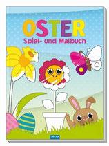 Ostern Spiel- und Malbuch