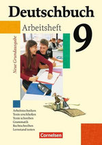 Deutschbuch 9, Arbeitsheft mit Lösungen