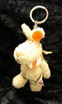 NICI Hase Chester Bunny Rabbit Kaninchen Halstuch Schlüsselanhänger