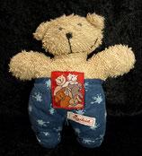 SIGIKID Pets Klecks Schmuser Bär / Teddy blau