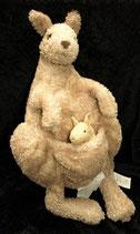 IKEA Klappar Känguru mit Baby Stofftier  Plüschtier