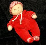 Sterntaler Puppe roter Anzug  22 cm