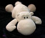 NICI  Bud Love Nilpferd mit Herz am Fuß liegend 35 cm