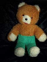 70er 80er Jahre Teddy DDR? Glasaugen grüne Hose