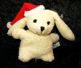 HEUNEC Hase Nobby / Mümmel Weihnachten aus Frottee NEU