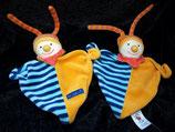 Baby Club / Fehn / DoBabyDoo Schmusetuch Clown Puppe Zipfel Dreieckig