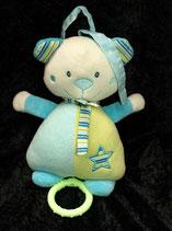 Babydream / ROSSMANN Spieluhr Teddy türkis  / grün Stern