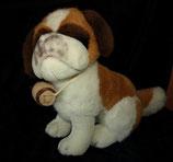 HEUNEC Bernhardiner / Hund mit Fässchen 33 cm