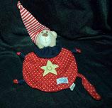 SIMBA Schmusetuch Teddy Punkte / Zipfelmütze / Stern