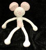 KIK / Okay  Schlenkermaus / Greifling Maus rosa