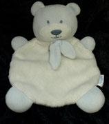 Babydream / ROSSMANN Schmusetuch Bär / Teddy blau /weiß