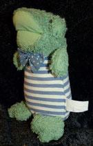 Sigikid alter Frosch mit Anzug + Schleife
