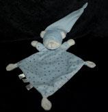 Nicotoy Schmusetuch Teddy blau Sterne