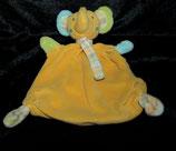 Baby fehn  Schmusetuch Elefant orange pastell mit Schal