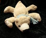 Sparkasse / ESC International Toys  Eisbär liegend mit hellblau Schal