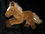 Bob der Bär Pferd / Pony    dunkelbraun / weiß kurzes Fell / Nicki