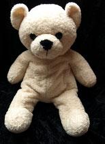 Kuschelwuschel / Karstadt Teddybär creme 41 cm