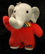 Sterntaler Spieluhr als Elefant rot Nicki