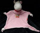SIGIKID Schmusetuch  Pferd / Pony Halstuch Herz rosa