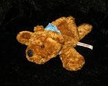 NICI Bär / Teddy liegend mit Halstuch ( blau ) Philipp