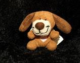 Banana Miniiii Hund mit Flügeln und Herz auf der Brust / Schutzengel